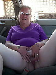 Grannies and matures flashing their bodies