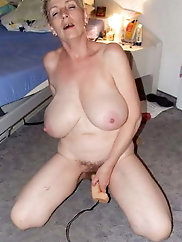 Awesome old whores with shaved pussy