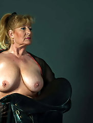 Unbelievable mature grandmoms are posing naked